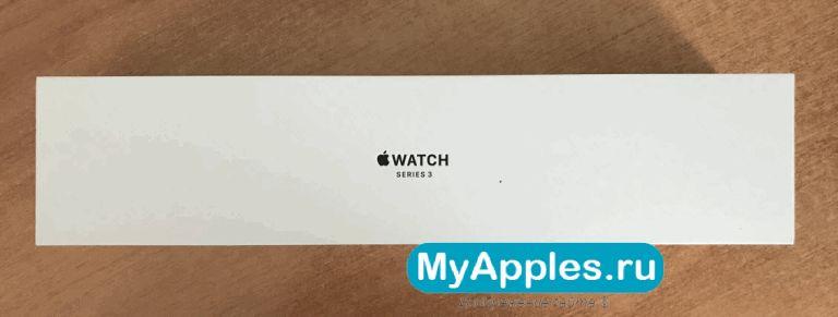 Оригинальная коробка Apple Watch Series 3