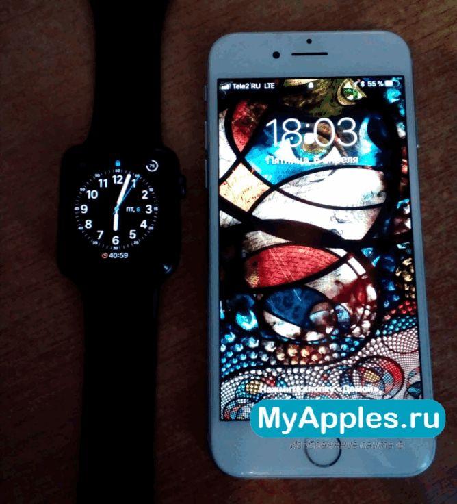 Создаем пару Apple Watch с iPhone или iPad