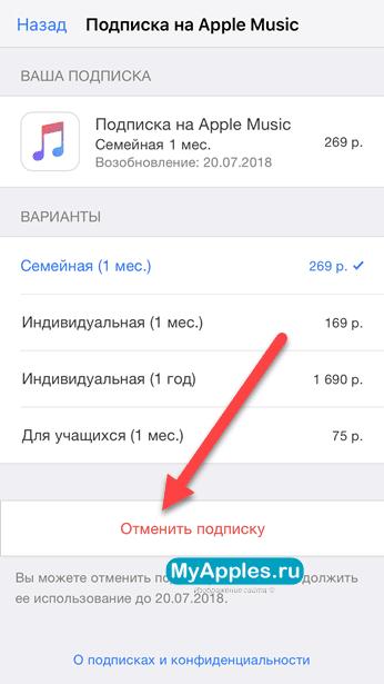 Отменяем любую подписку в AppStore двумя рабочими способами