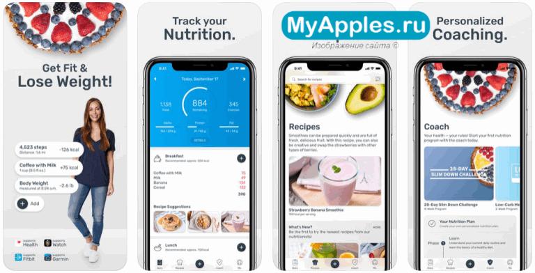 Приложения Для Iphone Для Похудения. 6 лучших приложений для подсчета калорий и снижения веса