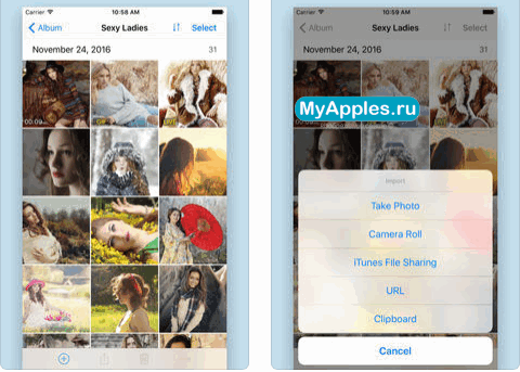 приложение для хранения фото в нете один самых молодых